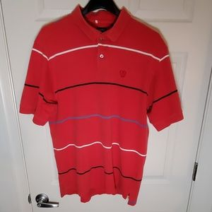 Izod red polo